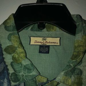 "Tommy Bahama ""party shirt"""